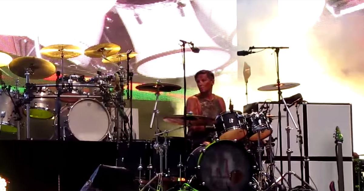 Christoph Schneider ao vivo em concerto dos Karat