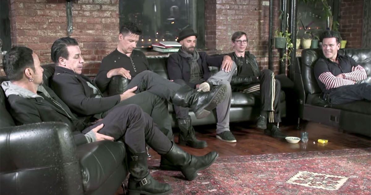 "Novo trailer do documentário de ""Rammstein In Amerika"""