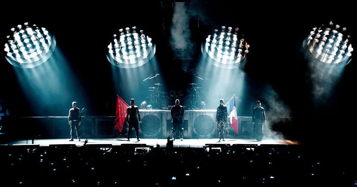"""""""Rammstein: Paris"""" com estreia mundial a 23 de março"""