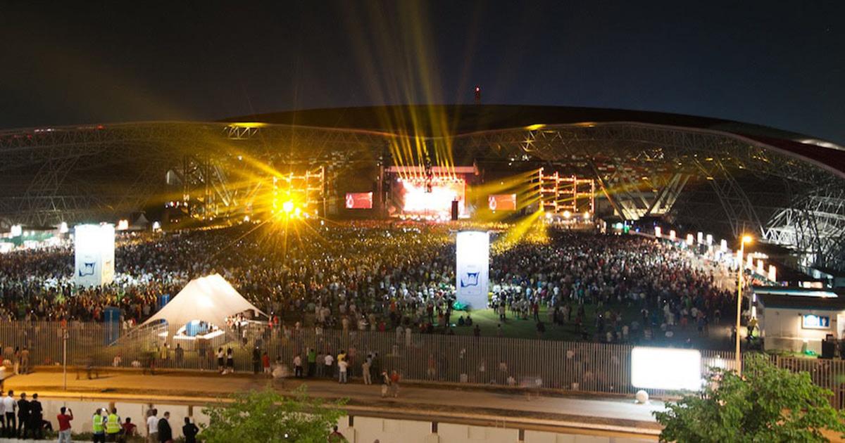 Promotora anuncia Rammstein em Abu Dhabi em dezembro
