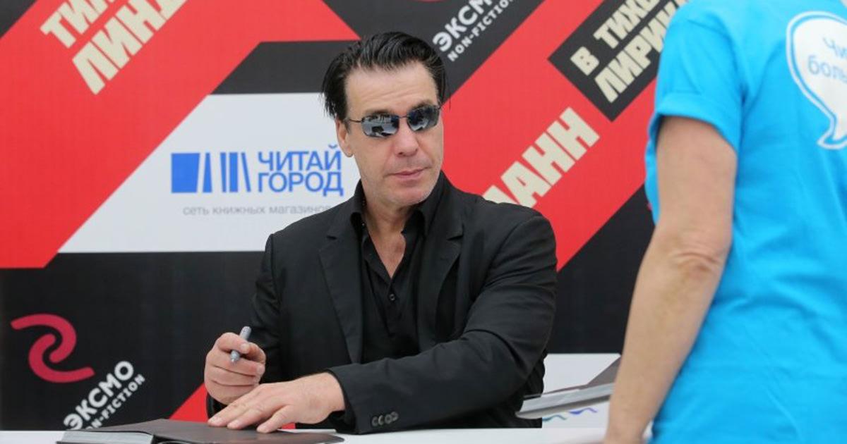 Till Lindemann confirma novo álbum para o outono de 2017