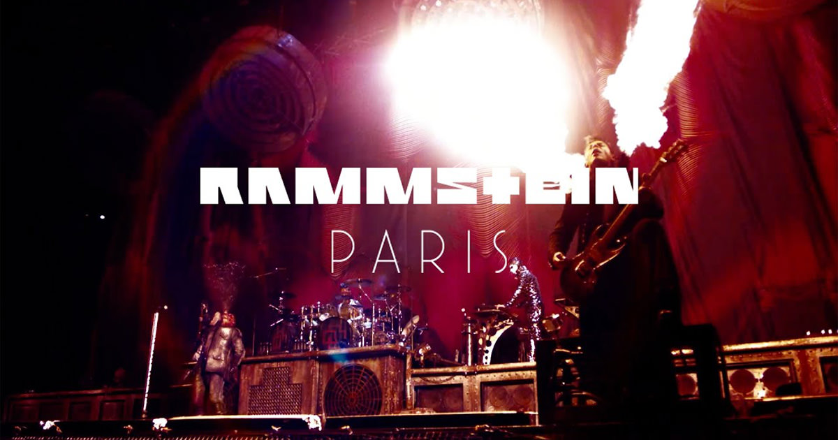 """Rammstein divulgam primeiro teaser oficial de """"Rammstein: Paris"""""""