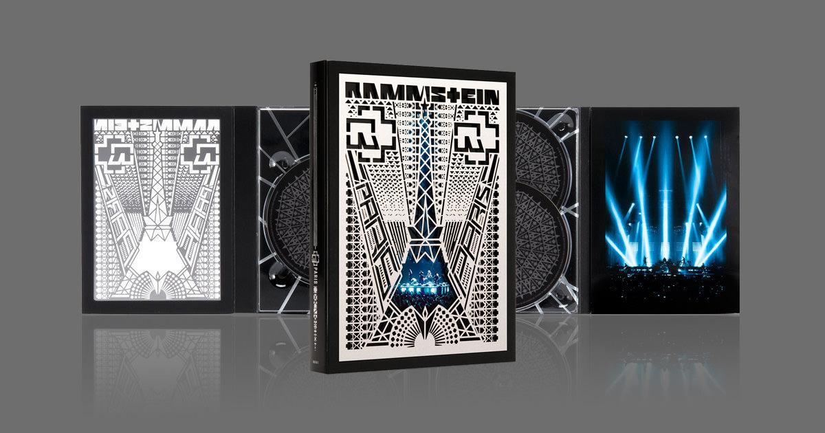 "Lançamento de ""Rammstein: Paris"" em DVD, Blu-ray, CD, Vinil e Digital"