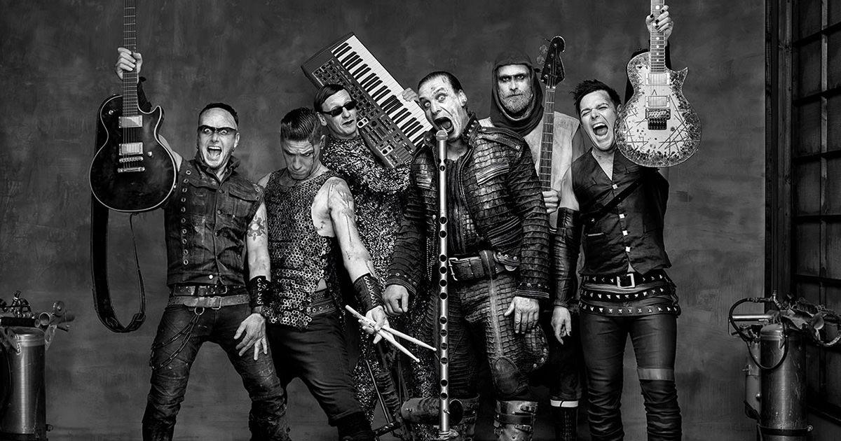 Rammstein em destaque na edição de Junho da revista Metal Hammer