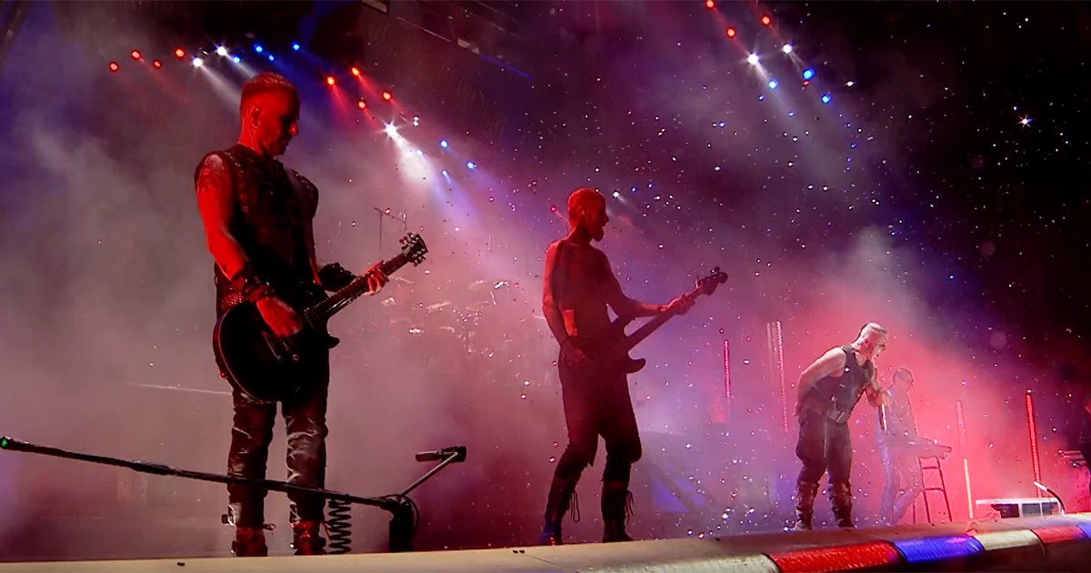 """Divulgado vídeo de """"Amerika"""" ao vivo no Festival Rock im Park 2017"""